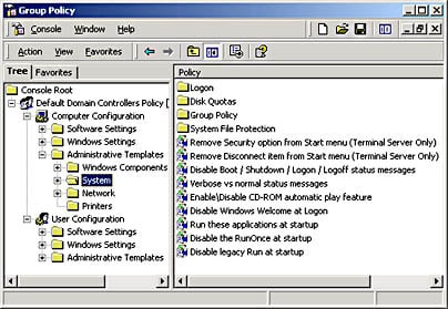 Group Policy Tool