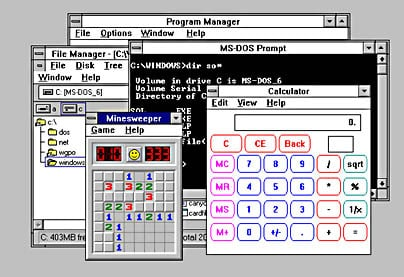 Windows 3.1 User Interface