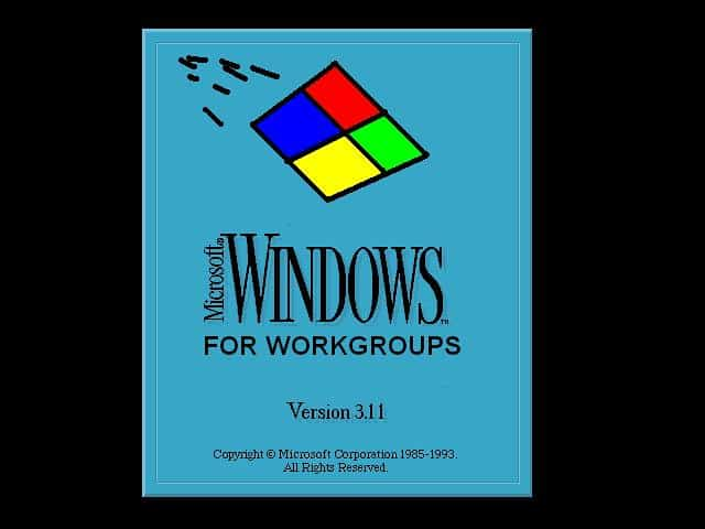Windows 3.11 for Workgroups Logo