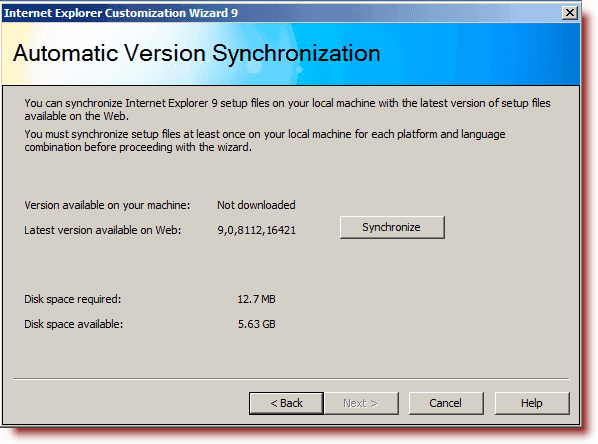 Automatic Version Synchronization