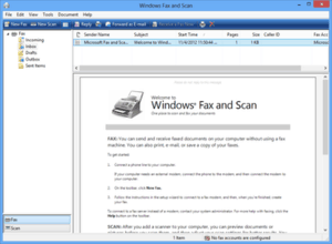 Fax Service (Windows Fax and Scan)