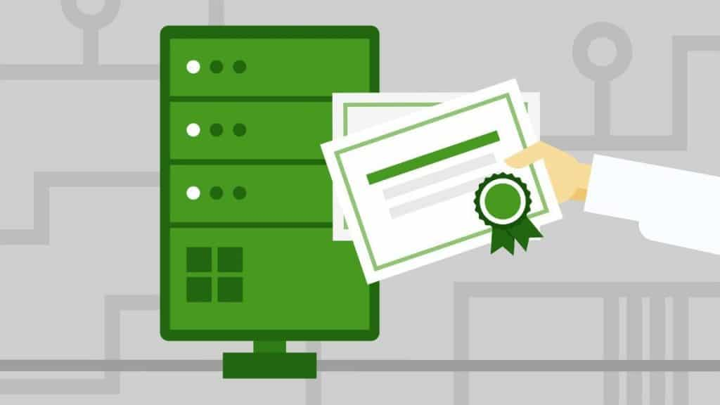 Certificate Services on Windows 2016