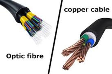 Cooper Cabling vs Fiber-Optics