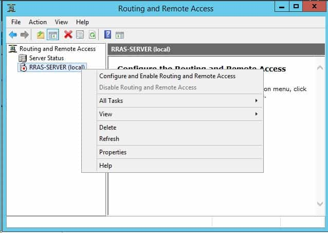Routing and Remote Access Service